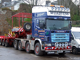 McFadyens Transport - V80 MFT