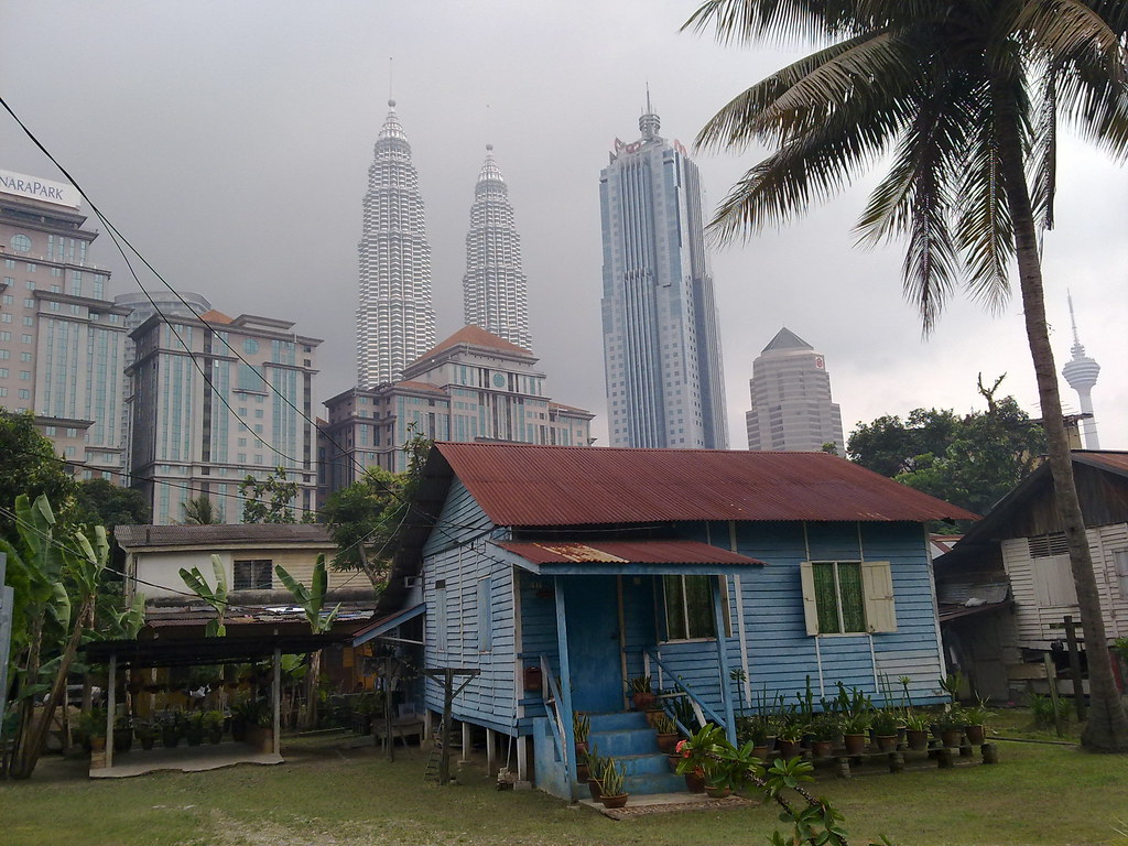 Photo Collection Wallpaper Rumah Kampung Di