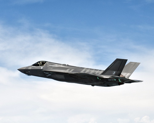 6937800748 5a61c129b2 The First UK F35 in Flight