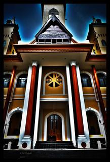 Gereja tampak depan