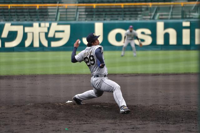 井川慶投手