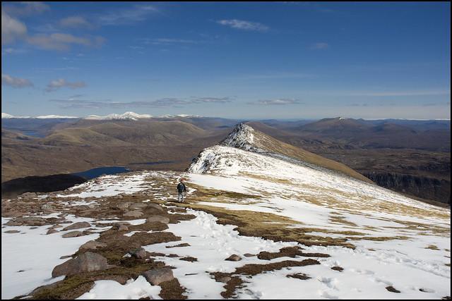 East Ridge to Sgurr an Tuill Bhain I