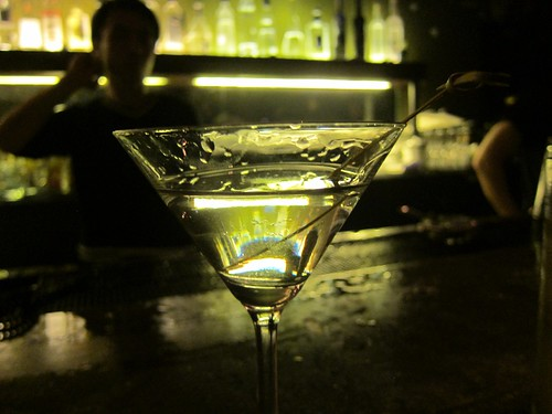 Dirty Martini in Shanghai