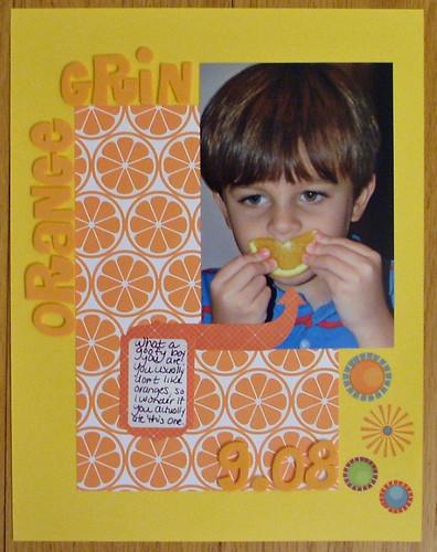 Orange Grin