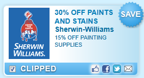 Paints & Stains At Sherwin Williams Coupon