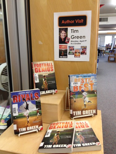 Tim Green Books - I predict this will soon be an empty display