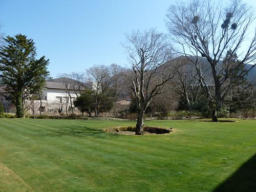 箱根ラリック美術館 庭