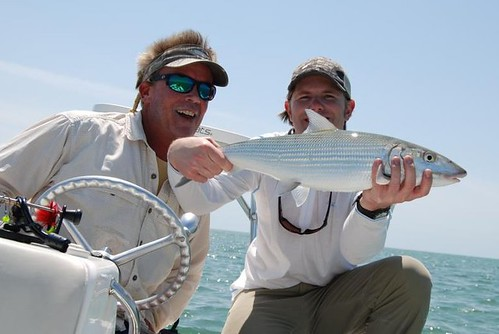 Report from the flats off key largo orvis news for Captain steve s fishing lodge