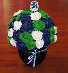 Vancouver canucks bouquet