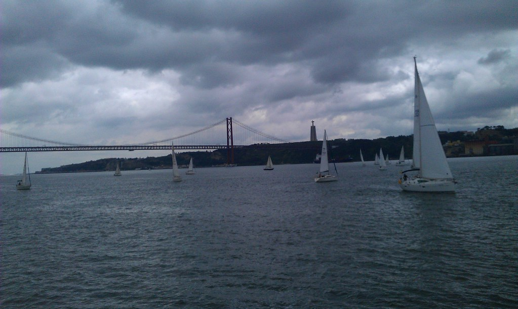 Small Sail Boats Race