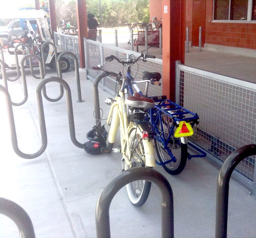 Bandera/1604 Bicycle Parking