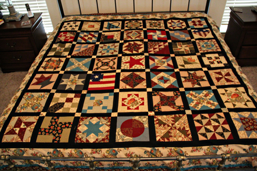 Civil War Quilt Top Complete! | : quilt civil war - Adamdwight.com