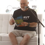KLRU 50th Birthday Party 2012 138 KUT's Bob Branson reads with The Cat in the Hat