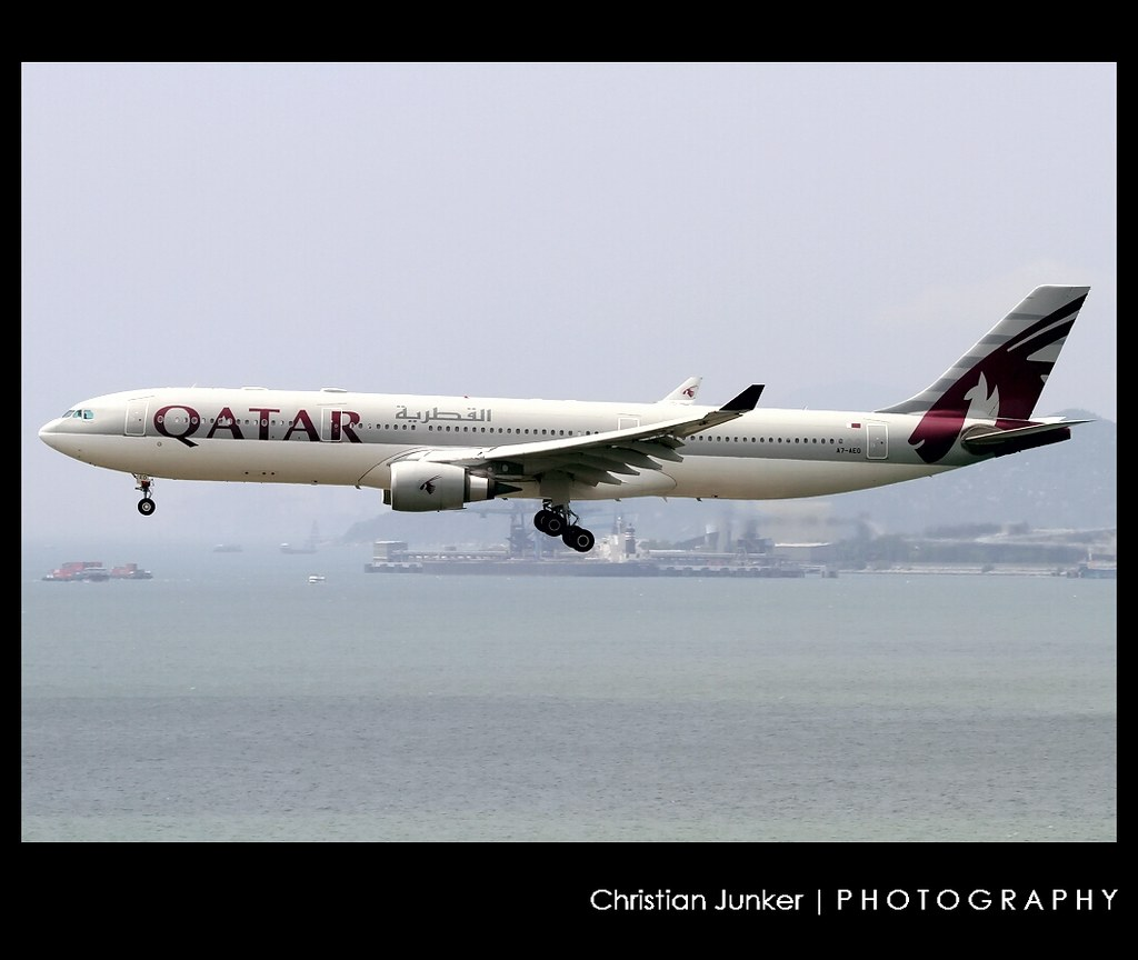 A7-AEO - A333 - Qatar Airways