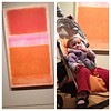 Royhko's Orange on Red 1956, Ella's red on Orange 2011