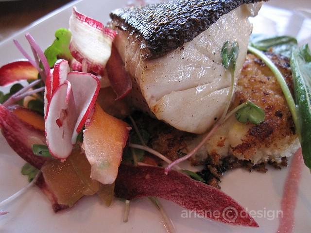 Summerhill Pyramid: Sunset Organic Bistro Sablefish