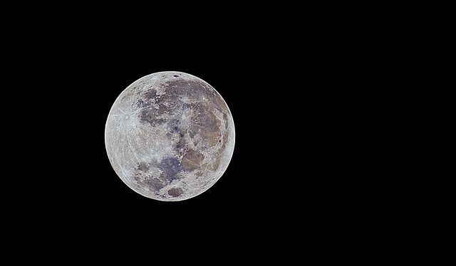 May 2012 Supermoon in Color