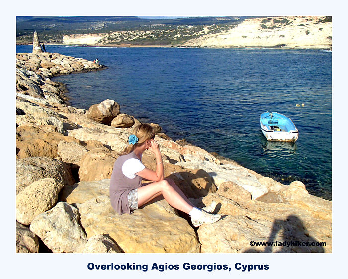 Overlooking Agios Georgios