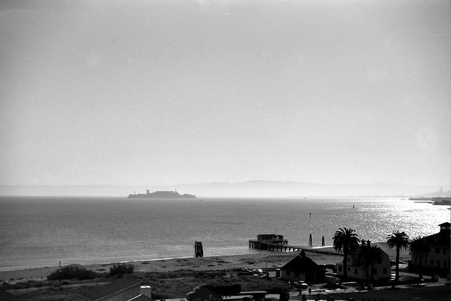 Alcatraz from Mission Cliffs