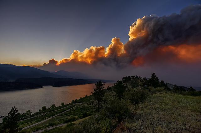 Explosive Destruction of the High Park Fire: June 10th, 2012