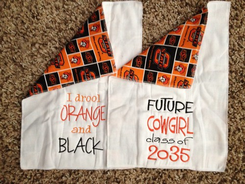 OSU Burp Cloths 2