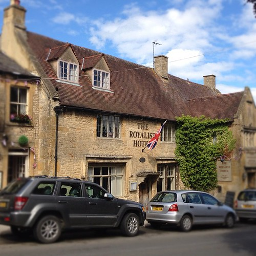 The Royalist Hotel, en Stowe-on-the-world, dice ser el más antiguo de Inglaterra #cotswolds #countryside #country #uk