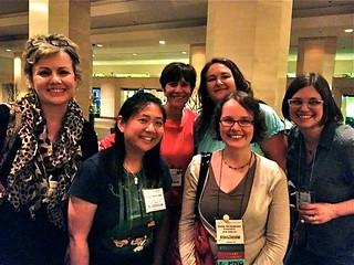 Graphic novelist Raina Telgemeier and my new ALA friends