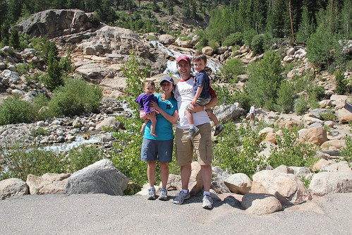 Family Picture at the Alluvial Fan 1
