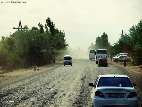 road day uzbekistan kitay