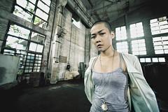 [フリー画像素材] 人物, 女性 - アジア, 女性 - ショートヘア, 中国人 ID:201207021800
