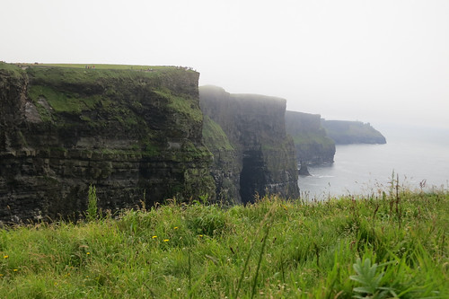 Cliffs of Moher ~ Mist