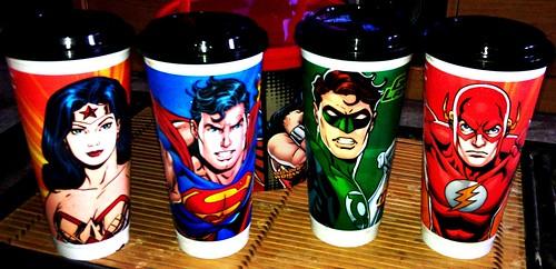 KFC Justice League Tumblers