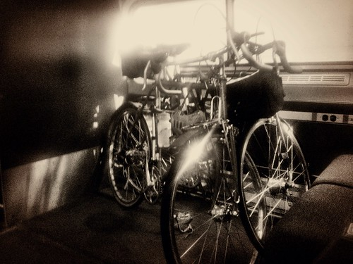 Bikes on Downeaster Train, Dirigo Dynamo