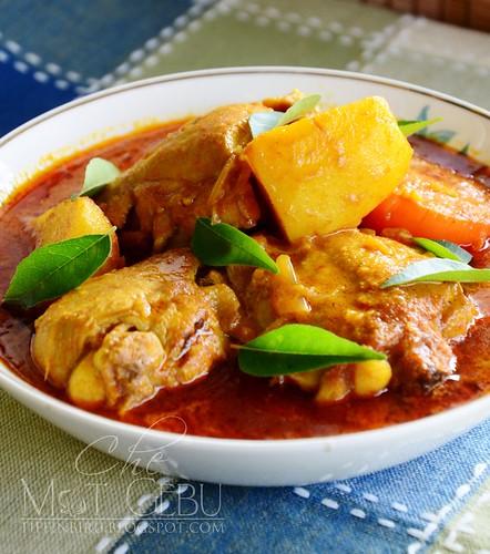 Kari Ayam Tanpa Santan Dapur Tanpa Sempadan