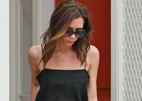 Victoria Beckham Hair Style 2012