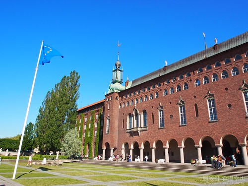 Stadshuset (the City Hall), Stockholm, Sweden