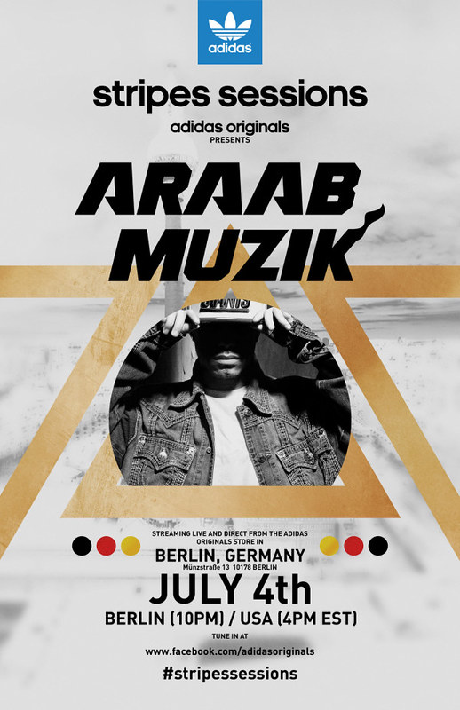 ARAAB MUZIKARAAB MUZIK / July 4th from Originals Store Berlin...