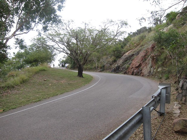 Castle Hill Road at the end of the Goat Track
