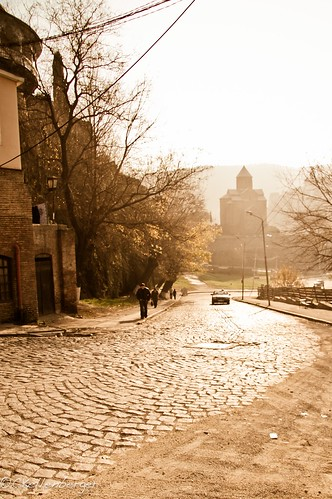 Cobble-Stone Streets of Old Tbilisi, Georgia