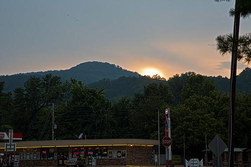 sunsets gasstation arkansas newtoncounty