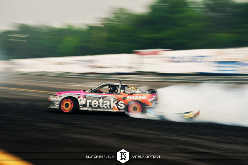 nissan silvia s14 drifting at formula drift the wall new jersey 3pc wheels static airride low slammed coilovers stance stanced hellaflush poke tuck negative postive camber fitment fitted tire stretch laid out hard parked seen on klutch republik
