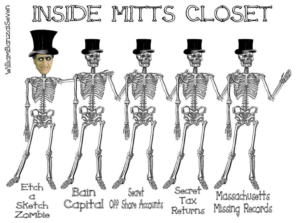 INSIDE MITT'S CLOSET