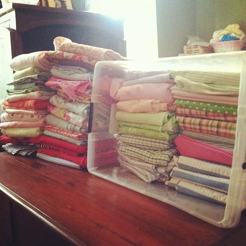Hi, my name is Tara & I buy too much fabric...