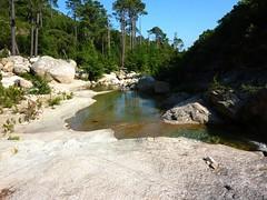 Confluence Carciara/Peralzone : superbes vasques pour baignade