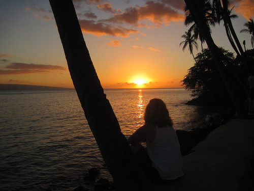 Lahaina sunset by Southworth Sailor
