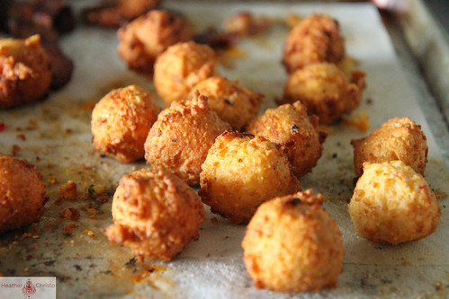 Goat Cheese Hushpuppies