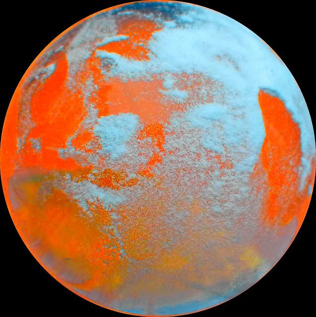 Orange planet flickr photo sharing for Plante orange