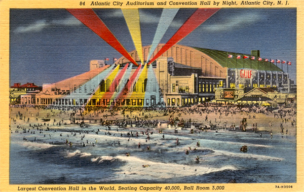 Atlantic City Auditorium and Convention Hall 1937