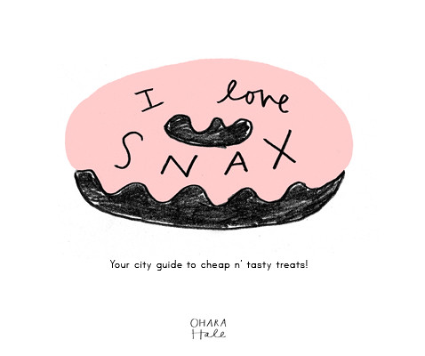 I LOVE SNAX logo
