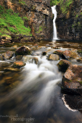 Foot Of The Falls by Dave Brightwell